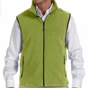 Mens fleece vest Devon & Jones 2-3XL green New